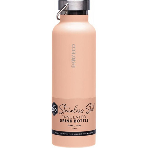 Ever Eco Insulated Stainless Steel Bottle Los Angeles Peach 750ml
