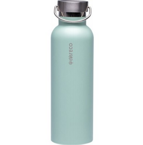 Ever Eco Insulated Stainless Steel Bottle Positano Blue 750ml