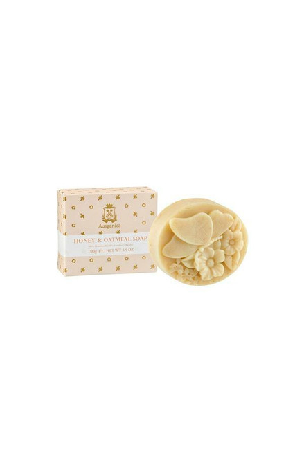 Ausganica Organic HONEY & OATMEAL SOAP 100g
