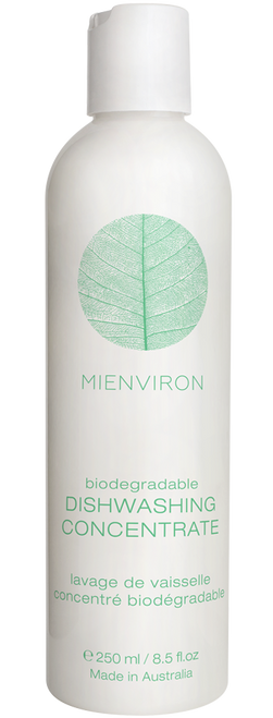 Miessence Biodegradable Dishwashing Concentrate 250ml