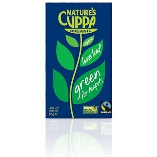 Tea Leaf Green Organic 125g Nature's Cuppa