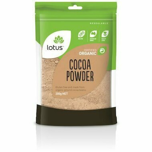 Lotus Cocoa Powder Organic 200g