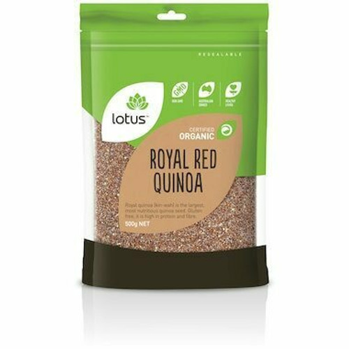 Quinoa Grain Red Organic 500g Lotus