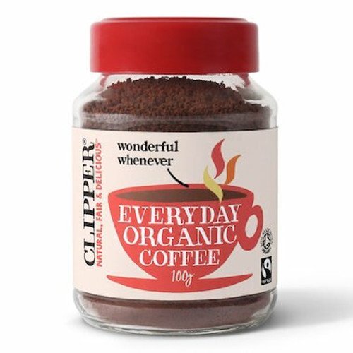 Coffee Instant Everyday (Rich Roast) FT Organic 100g Clipper