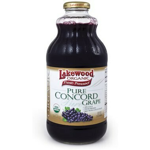 Concord Grape Juice Organic 946mL Lakewood