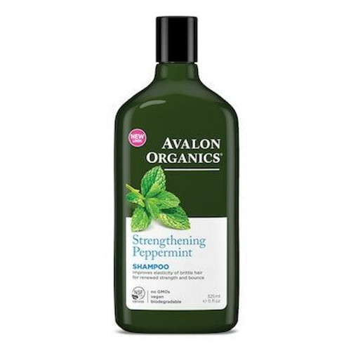 Avalon Organics Shampoo Peppermint 325mL