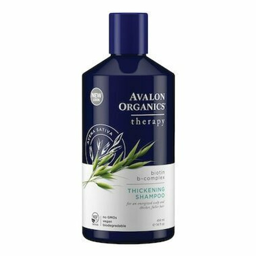 Avalon Organics Active Shampoo Biotin B Complex Thick 400mL