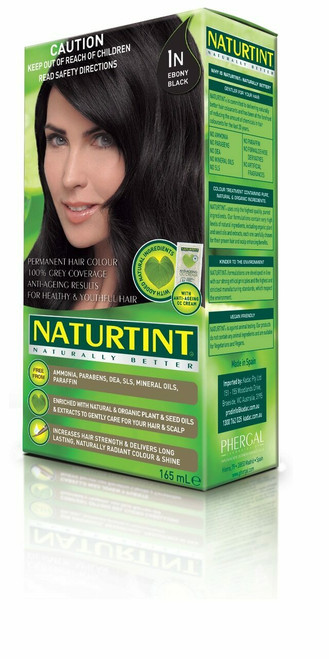 NaturTint Ebony Black - 1N 155ml