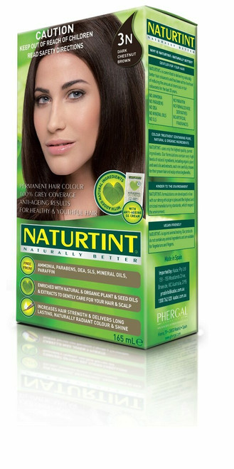 NaturTint Dark Chestnut Brown - 3N 155ml