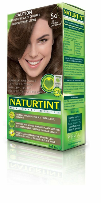 NaturTint Light Golden Chestnut - 5G 155ml