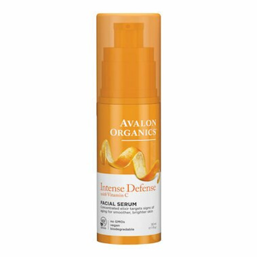 Avalon Organics Intense Defense Facial Serum 30mL