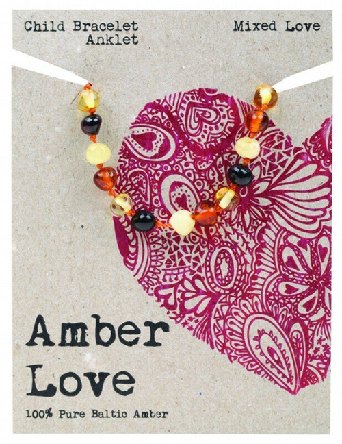 Love Children's Bracelet/Anklet Mixed By Amber