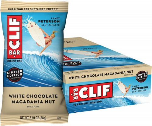 Clif Bar White Chocolate Macadamia Nut 12 x 68gr