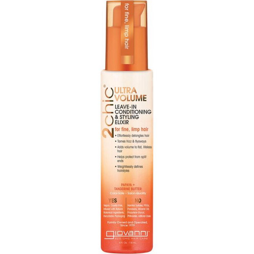 Giovanni Tangerine & Papaya Butter Leave In Conditioning Elixir
