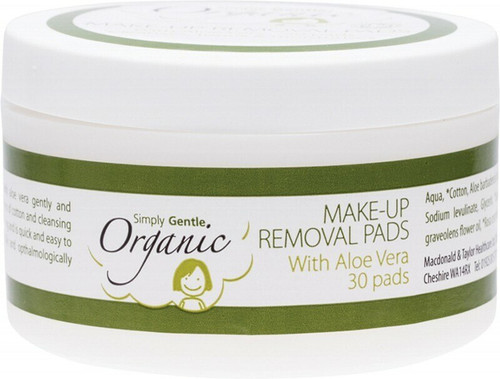 Simply Gentle Facial Cleansing Pads 30