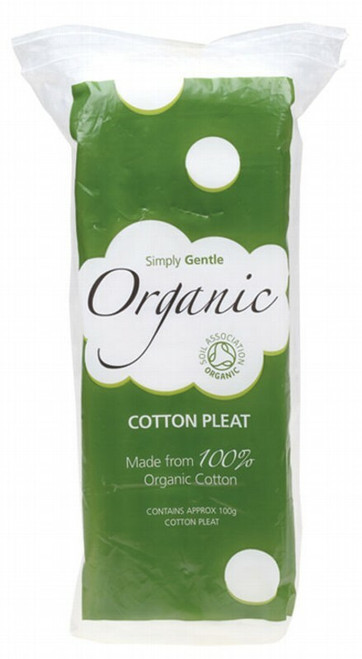 Simply Gentle Cotton Pleat 100g