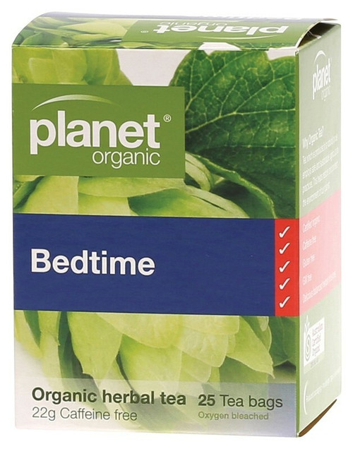 Bedtime Tea Bags 25 Bags By Planet Organic