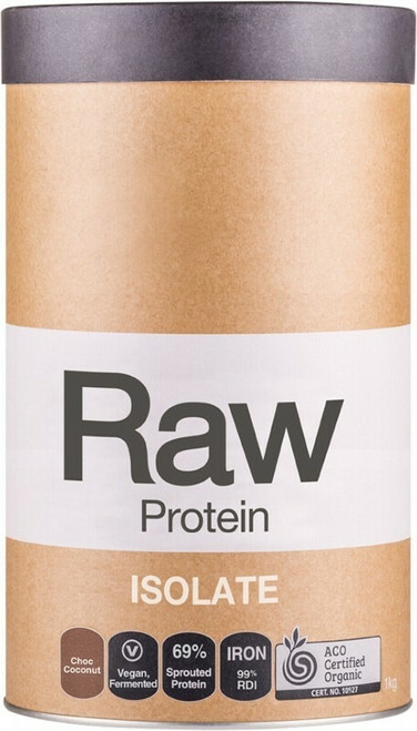Raw Protein Isolate (Chocolate & Coconut) 1kg By Amazonia