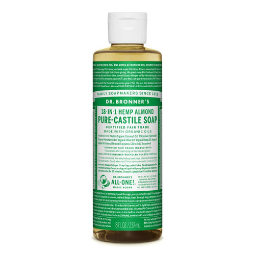 Dr Bronner's Almond Organic Liquid Soap 237ml