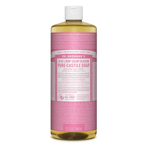 Dr Bronner's Cherry Blossom Organic Liquid Soap 950ml