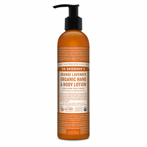 Dr. Bronner's Orange Lavender Organic Lotion 236ml