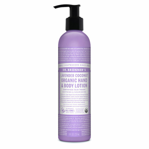 Dr. Bronner's Lavender Coconut Organic Lotion 236ml