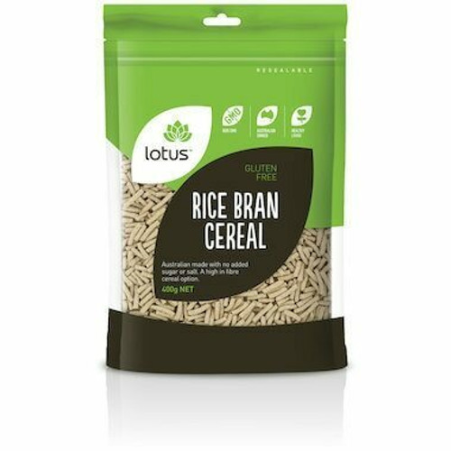 Lotus Rice Bran Cereal 400g