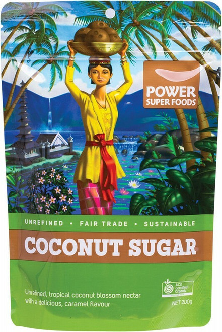 Power Super Foods Coconut Sugar (Sustainably Sweet) 200g