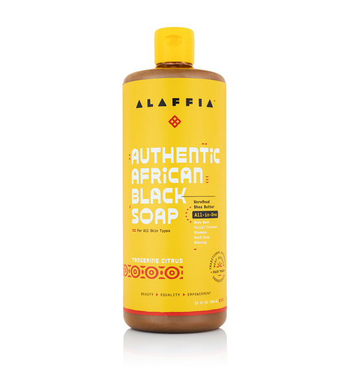 Alaffia African Black Soap Tangerine Citrus 476ml