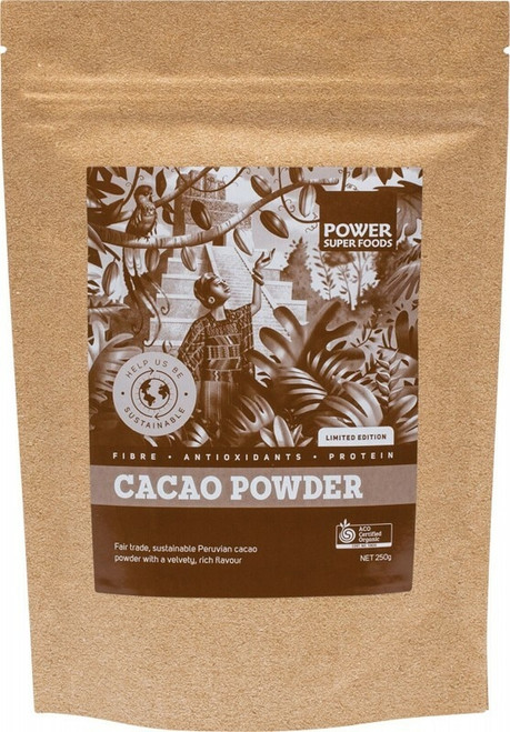 POWER SUPER FOODS Cacao Powder Limited Edition 250g