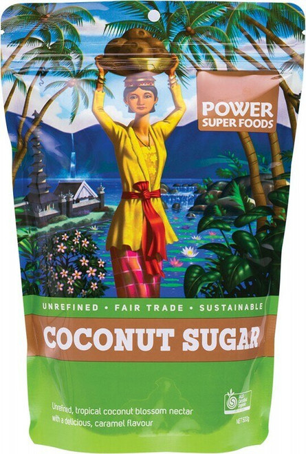 Power Super Foods Coconut Sugar (Sustainably Sweet) 500g