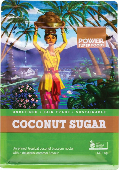 Power Super Foods Coconut Sugar (Sustainably Sweet) 1kg