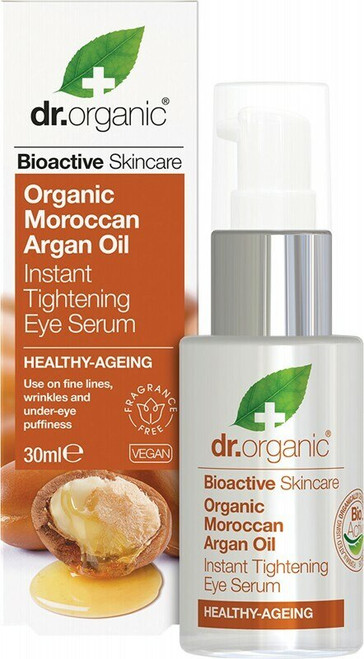 Dr Organic Moroccan Argan Eye Serum 30ml.
