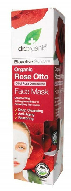 Dr Organic Rose Otto Face Mask 125ml