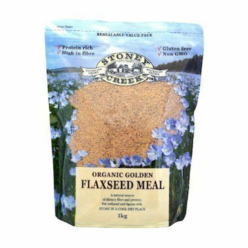 Stoney Creek Golden Flaxseed Meal Organic 1kg
