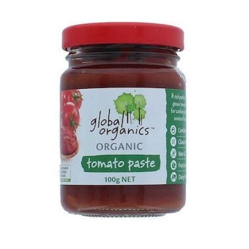 Tomato Paste Organic (Glass) 100g x 12 Global Organics