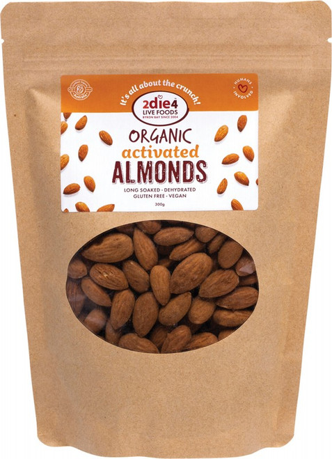 2Die4 Live Foods Activated Almonds 300g