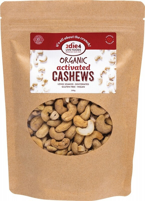 2Die4 Live Foods Activated Cashews 300g
