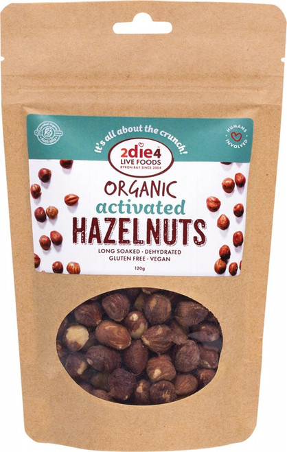 2DIE4 LIVE FOODS Activated Hazelnuts 120g