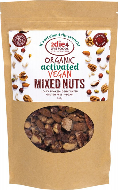 2DIE4 LIVE FOODS Activated Vegan Mix 300g