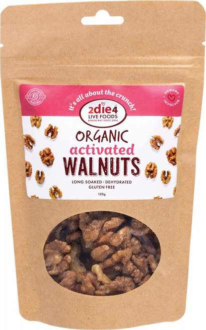 2DIE4 LIVE FOODS Activated Walnuts 120g