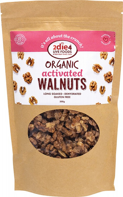 2DIE4 LIVE FOODS Activated Walnuts 300g