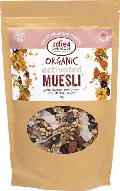 2Die4 Live Foods Activated Muesli 300g