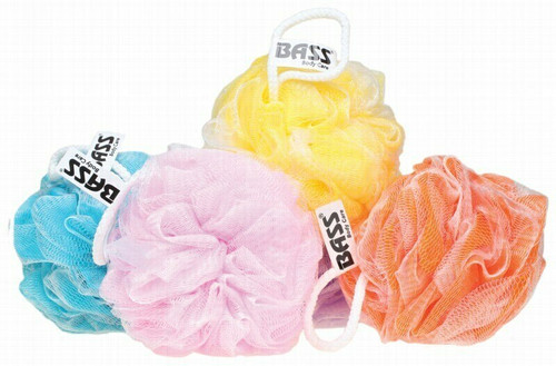 Bass Body Care Flower Sponge (Extra Thick) Color May Vary 1