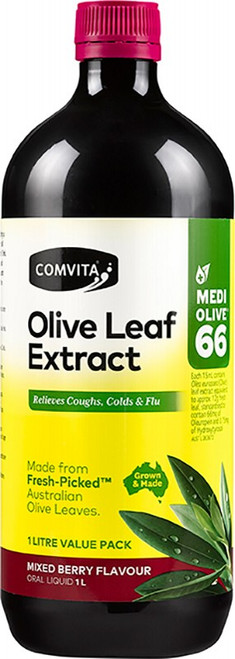 COMVITA - OLIVE LEAF EXTRACT Berry Olive Leaf Extract 1L
