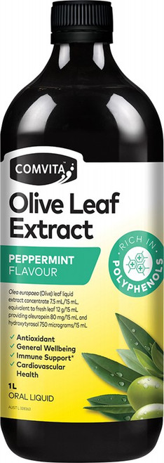 Comvita - Olive Leaf Extract Peppermint 1L