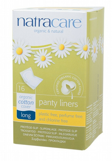 Natracare Panty Liners Long 16