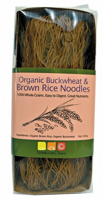 Nutritionist Choice Buckwheat & Brown Rice Noodles 200g