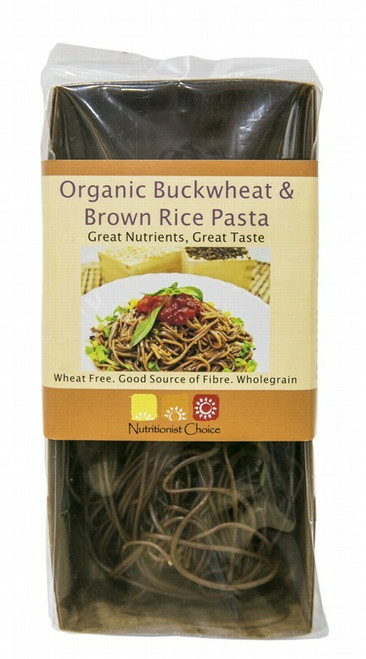 Nutritionist Choice Brown Rice & Buckwheat Pasta Spaghetti 180g