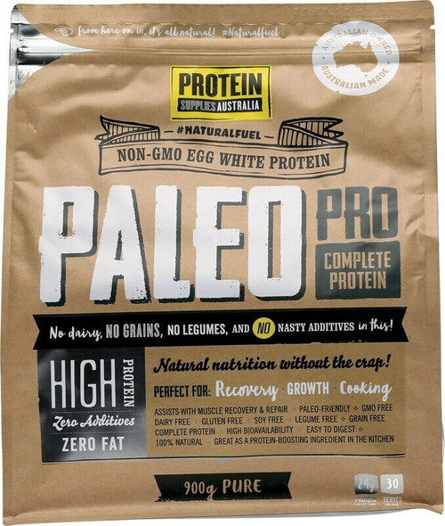 Paleo Pro Complete Protein Pure 900g by Protein Supplies Australia